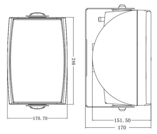HiVi_VA4-OS_Wall Speaker_Specification_1